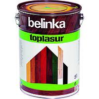Толстослойная лазурь для дерева BELINKA TOPLASUR (сосна) 5 л