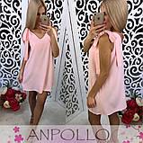 Летнее легкое платье сарафан туника на завязки Мила, фото 7