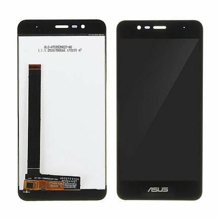 Дисплей (экран) для Asus ZenFone Pegasus 3 X008 с сенсором (тачскрином) черный Оригинал, фото 2