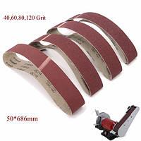 50x686 мм 40 60 80 120 grit Шлифовальные ремни шлифовальный абразивный инструмент - 1TopShop