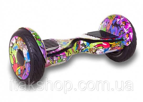 Гироборд Smart Balance Wheel U8 TaoTao APP 10,5 дюймов Hip-Hop New с самобалансом и колонкой