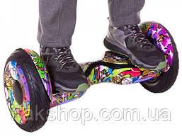 Гироборд Smart Balance Wheel U8 TaoTao APP 10,5 дюймов Hip-Hop New с самобалансом и колонкой, фото 3