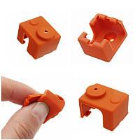 Hotend Силиконовый Чехол Изоляционный носок для V6 PT100 Алюминиевый блок 3D-принтер - 1TopShop