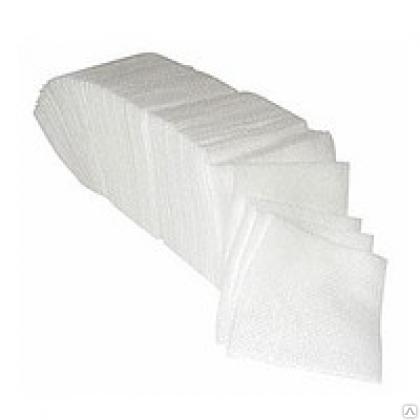 Серветки 33*33 - 200 шт 2 шарі білі