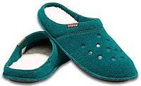 Тапочки комнатные Crocs M3 W5 EUR 35 36 домашние теплые женские тапки Крокс