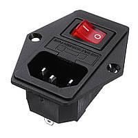 Creality 3D® 220V / 110V 15A Защитный выключатель защиты от короткого замыкания Разъем Модуль для 3D-принтера - 1TopShop