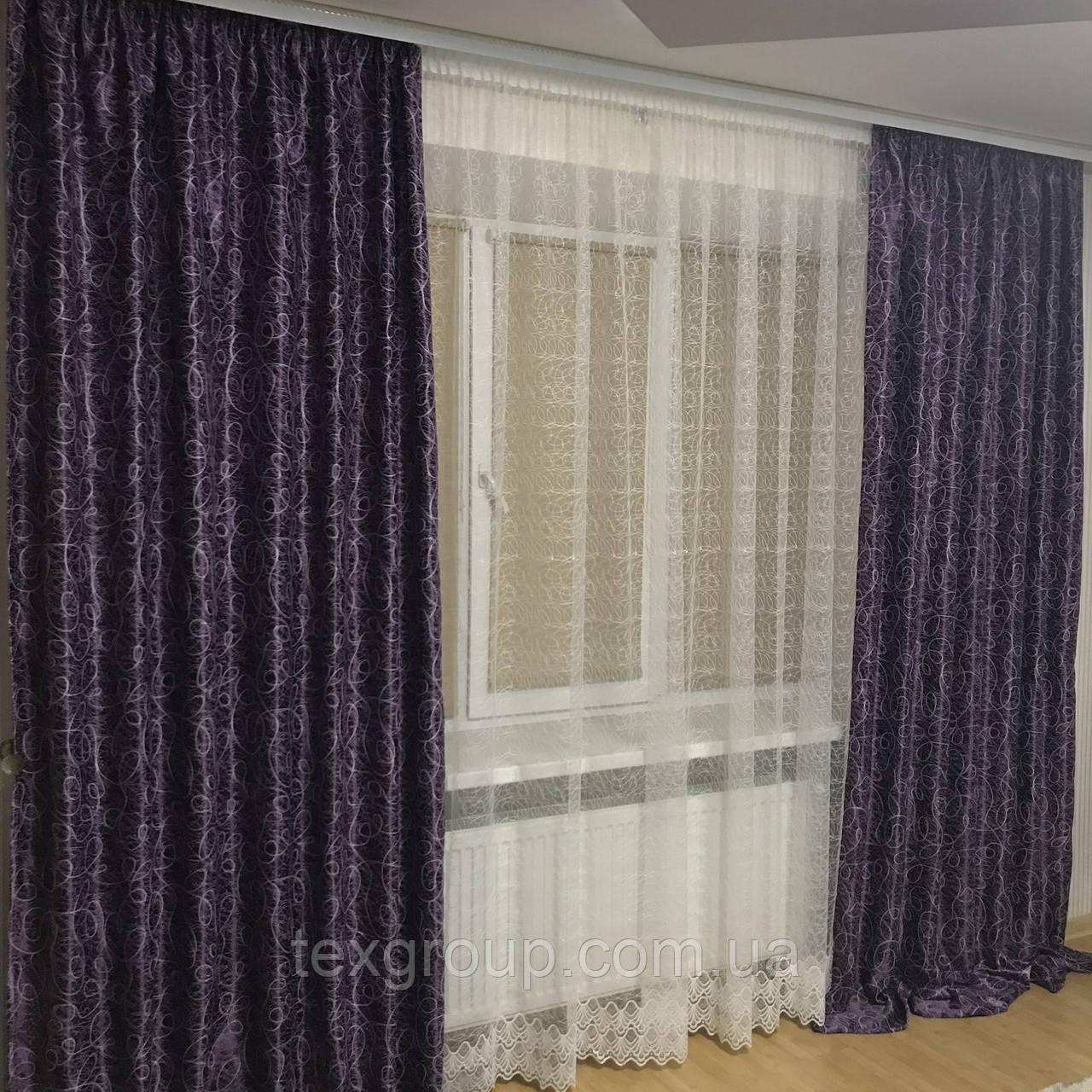 Готовые шторы Вихорь №210