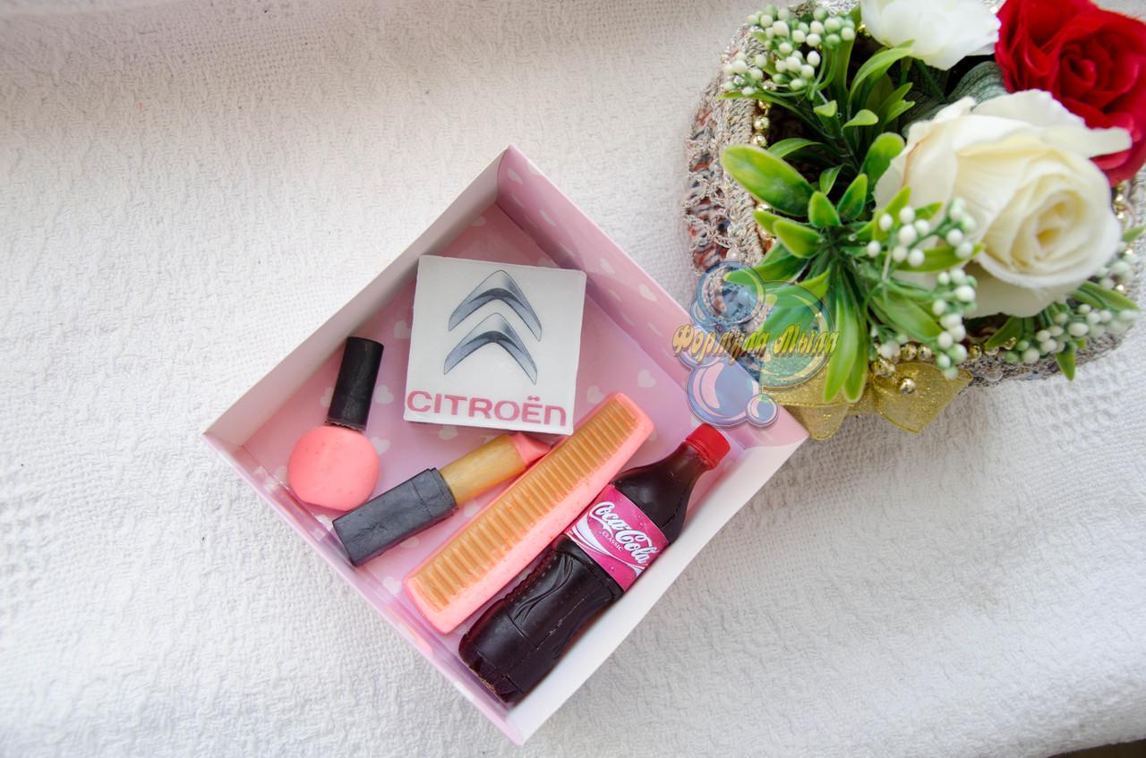 """Подарочный набор мыла """"Citroen"""" для женщины"""
