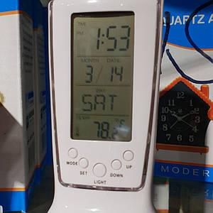 Портативные часы-будильник, термометр