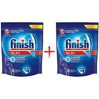 CALGONIT Finish таблетки ВСЕ в 1 (50 шт+50 шт-50 відсотків на другу) для посудомийних машин