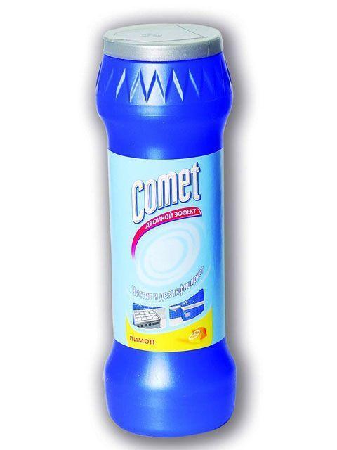 COMET лимон, океан, сосна чист. порошок 400+75 гр з хлором