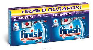 Finish Guantum таблетки (20 шт+20 шт) для посудомийних машин ПГХ