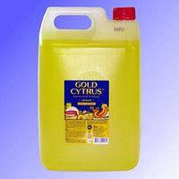 GOLD Cytrus миючий засіб для посуду 5л Жовтий Укр.