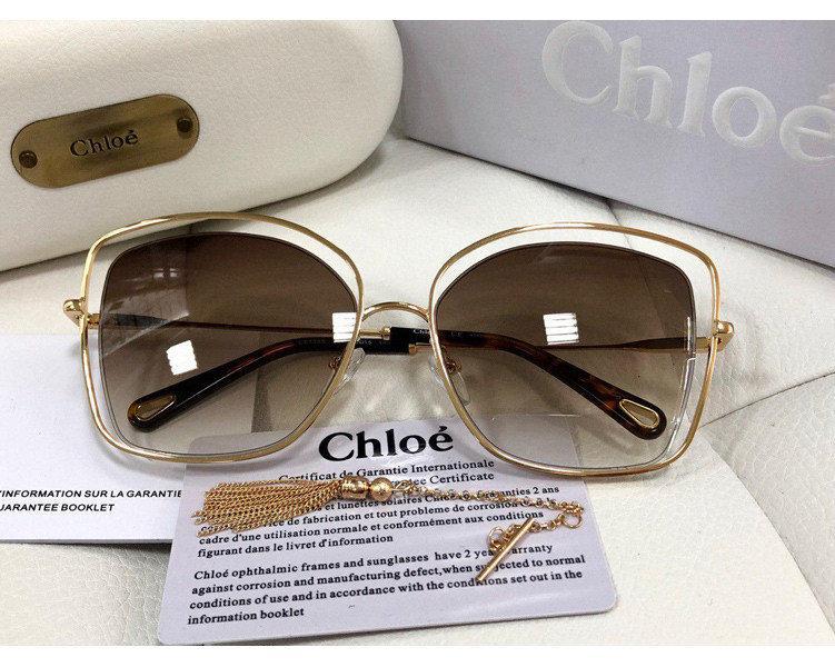 Солнцезащитные очки Chloe (133s) LUX brown