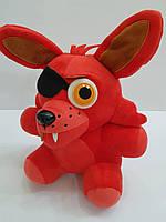 Мягкая игрушка Фокси (Foxy) герой мультфильма Пять ночей с Фредди (Five nights at freddy's). 25 см
