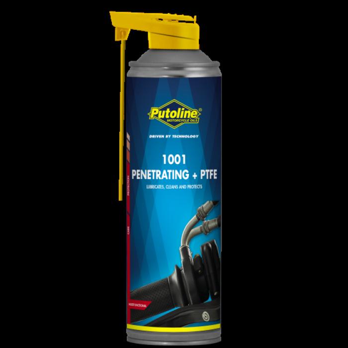 Спрей для смазки тросов Putoline 1001 Penetrating + PTFE