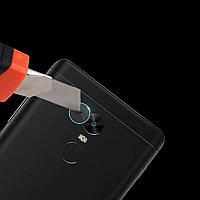 2PCSкамераОбъективЗащитникSoft Закаленное стекло Rear камера Телефон Объектив для Xiaomi Redmi5Plus - 1TopShop