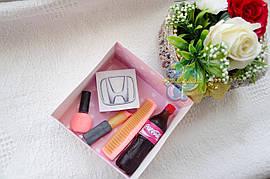 """Подарочный набор мыла """"Honda"""" для женщины"""
