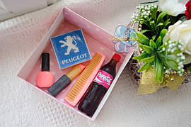 """Подарочный набор мыла """"Peugeot"""" для женщины"""