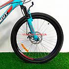 Горный велосипед Azimut Forest 26 GD бирюзовый, фото 3