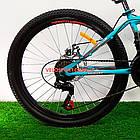 Горный велосипед Azimut Forest 26 GD бирюзовый, фото 5