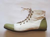 Обувь из конопли. Кроссовки «Саныч»