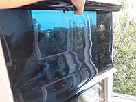 Пленка Тонировочная Saca 50 cм 3 метра,15%  Черная с СИНИМ оттенком, пленка для тонировки стекол. Антицарапка