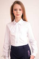 Школьная блуза  белый р.  134, 140, 146, 152, 158