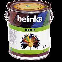 Тонкослойная лазурь для дерева BELINKA LASUR (тик) 2,5 л, фото 1