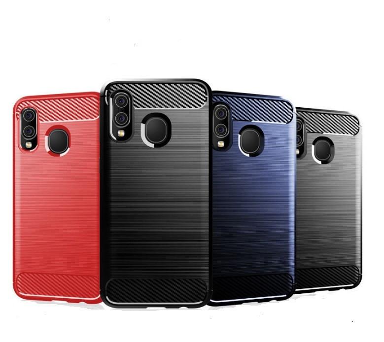 Чохол Carbon для Samsung A20 2019 / A205F (3 кольори)