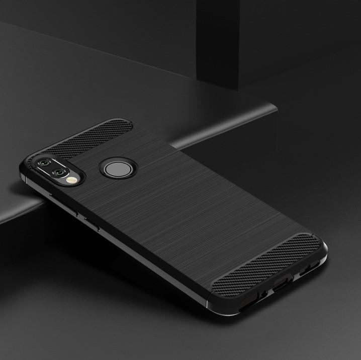 Чехол Carbon для XIaomi Redmi Note 7 / Note 7 Pro Черный