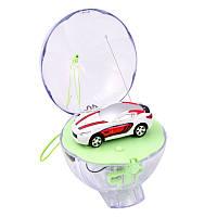 Радіокерована іграшка SUNROZ Mini Car міні-машинка в кулі на р/к 1:67 Білий (SUN4792)