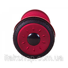 Гироборд Smart Balance Wheel U8 TaoTao APP 10,5 дюймов Red black (матовый) с самобалансом и колонкой, фото 3