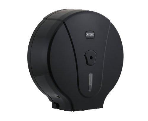 Держатель туалетной бумаги джамбо чёрный
