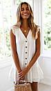 Короткое платье с рюшами без рукавов, фото 2