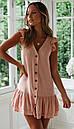Короткое платье с рюшами без рукавов, фото 5