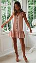 Короткое платье с рюшами без рукавов, фото 8