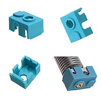 Blue Hotend Силиконовый Чехол Для V6 PT100 Алюминиевый блок 3D-принтер - 1TopShop