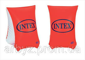Нарукавники детские для плавания  Интекс оранжевые