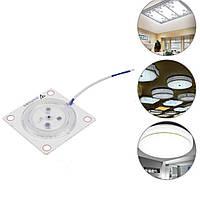 AC220V 12W 24W 36W LED Потолочный модуль Внутренний белый источник света Замените Пластина Магнитный Лампа - 1TopShop