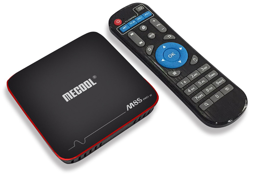 Приставка MECOOL M8S Pro W 2/16 Gb Android TV Box