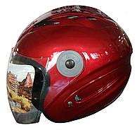 Мотошлем FXW HF-210 Открытый Красный, фото 1