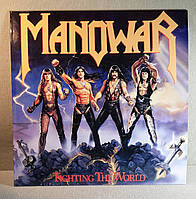 CD диск Manowar - Fighting the World