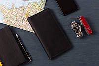 """Мужской кожаный кошелек для путешествия """"Travel"""", фото 1"""