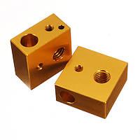 Creality 3D® 2PCS MK7 / MK8 20 * 20 * 10 мм Алюминиевый нагревательный блок для 3D-принтера - 1TopShop