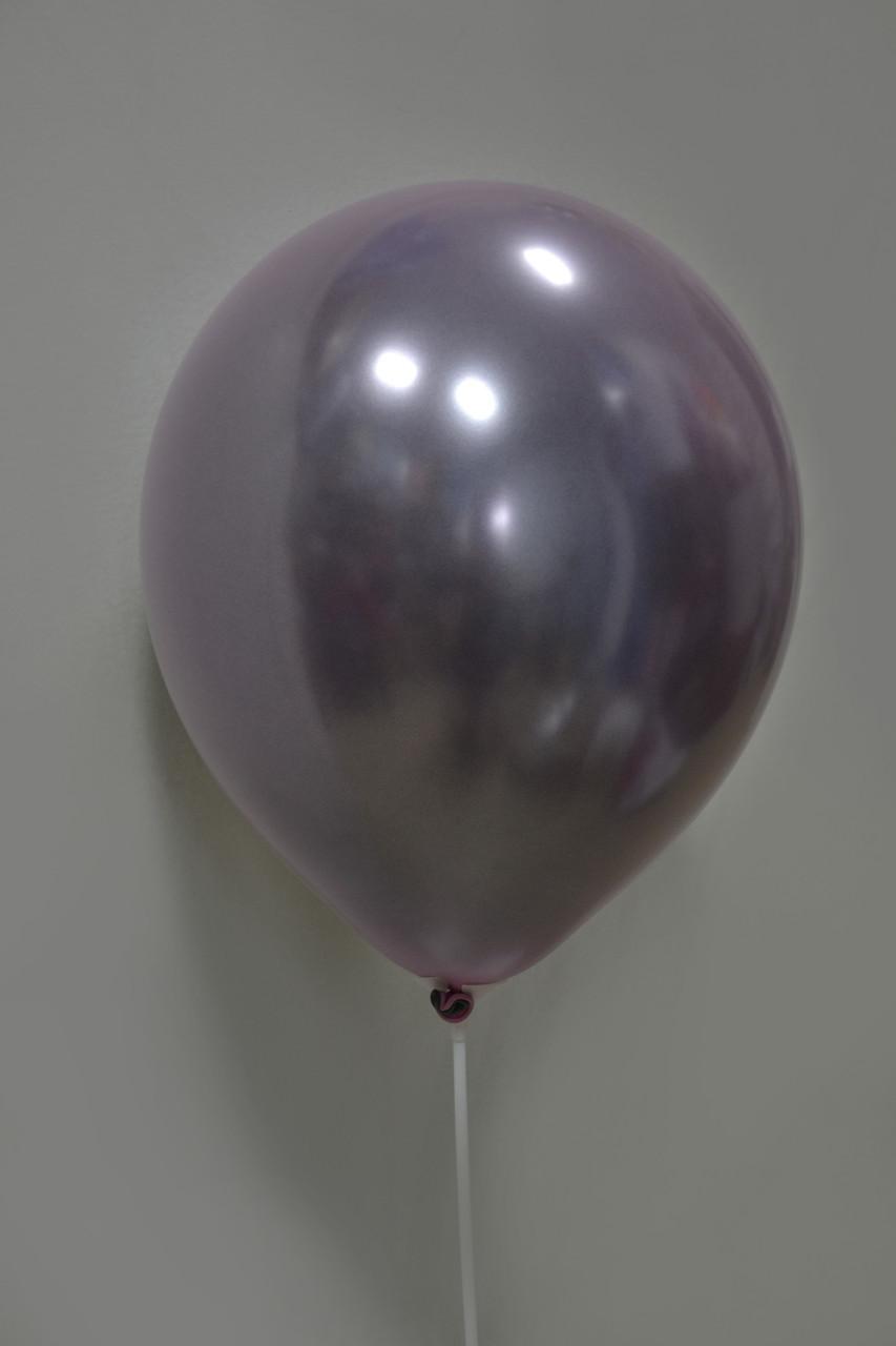 Зеркальный Шар Дабл Стафф 12″, Stuffed, Розовая Сталь