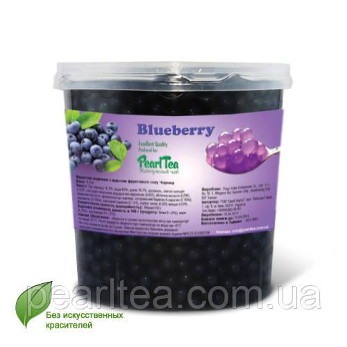 Жемчужины ЧЕРНИКА для bubble tea