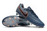 Футбольные бутсы Nike Tiempo Legend VII Elite FG Armory Blue/Black/Hyper Crimson, фото 1