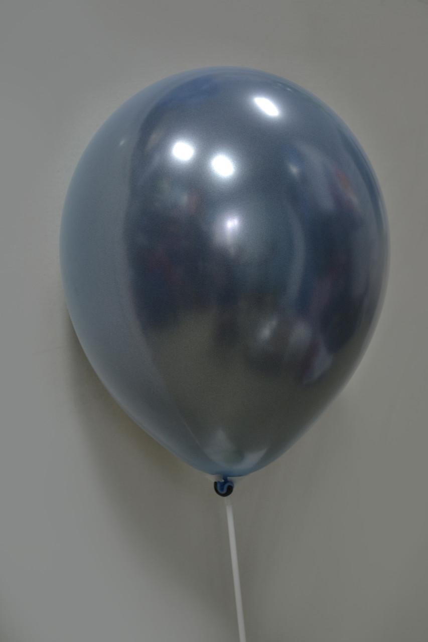 """Дзеркальна Куля Дабл Стафф 12"""", Stuffed, Синя Сталь"""