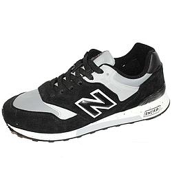Кроссовки New Balance 577 чёрно-серые Black-Gray (41-46) (реплика)